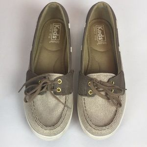 KED'S tie top loafers
